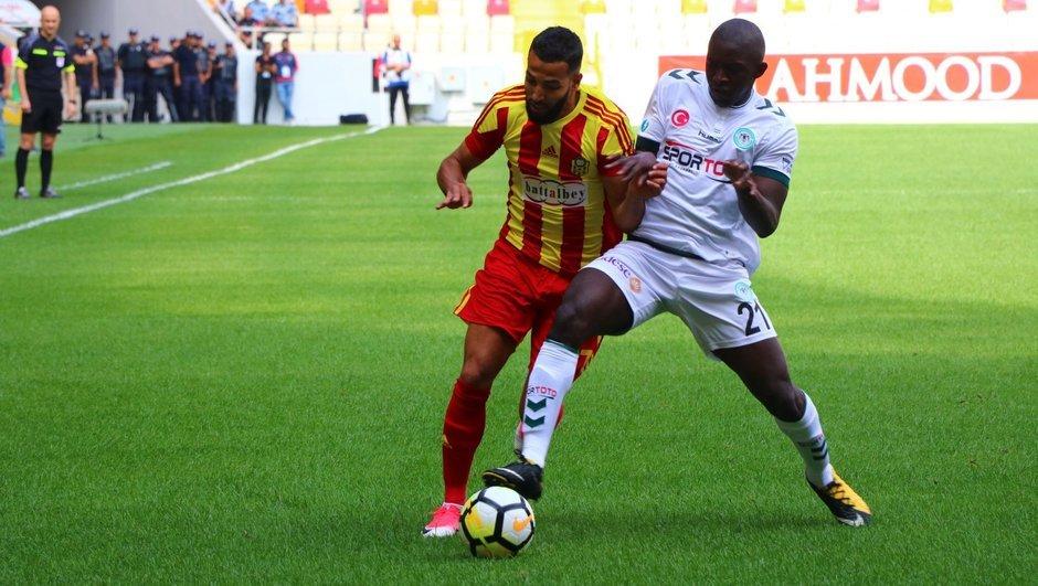 Yeni Malatyaspor: 1 - Atiker Konyaspor: 1