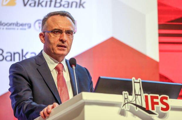 Maliye Bakanı Naci Ağbal tedavi altına alındı