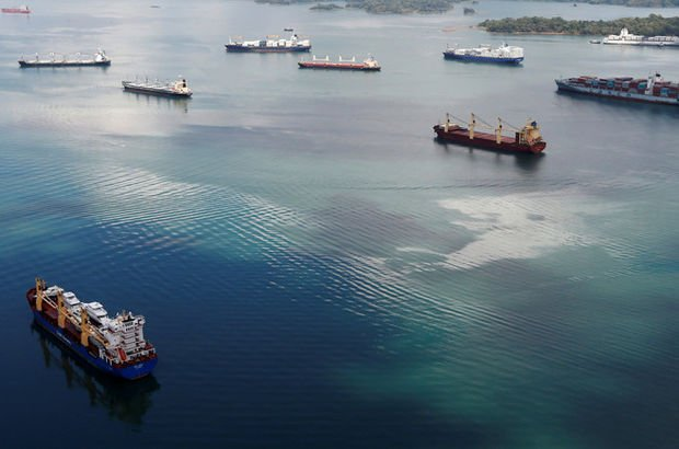 'Hayalet gemi' açık sulara iniyor