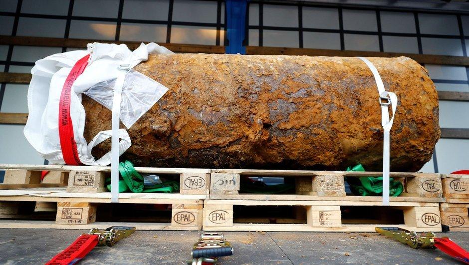 Almanya'da 250 kilo bomba bulundu