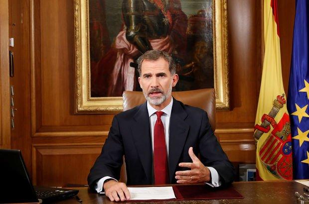 İspanya Kralı Felipe: Referandum yasadışı!