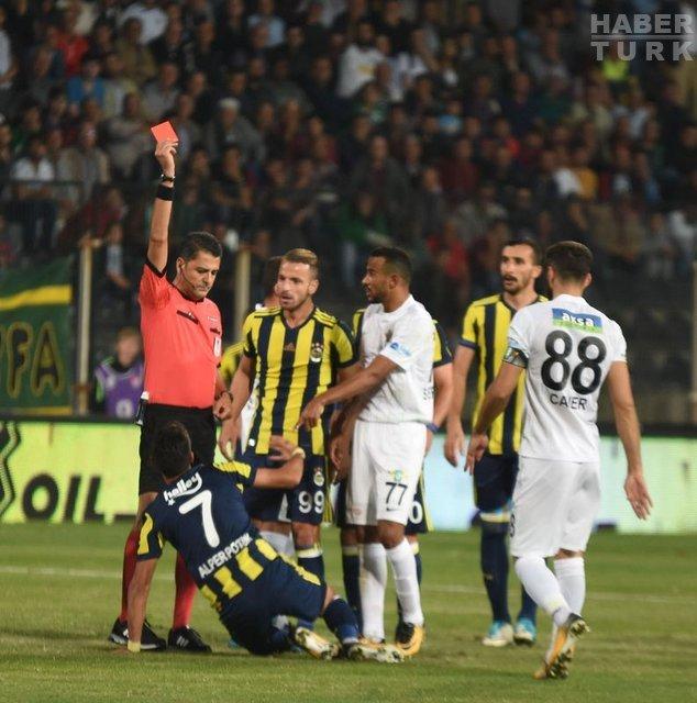 Akhisar - Fenerbahçe maçının hakem raporları