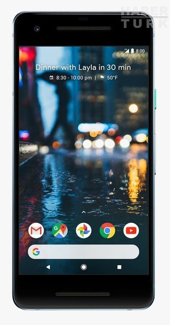 Google ikinci nesil Pixel'leri tanıttı