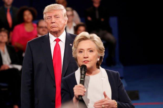 Hillary Clinton: 'Trump, ABD'nin bölünmesine yardımcı oluyor'