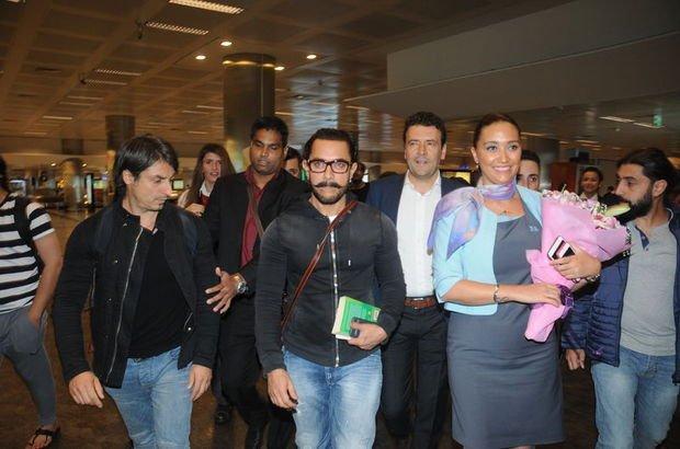 Bollywood'un ünlü yıldızı Aamir Khan, İstanbul'da!