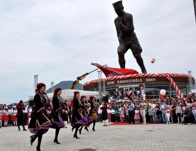 Atatepe turizme açıldı