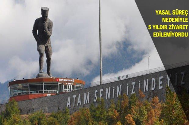 Atatürk Anıtı Artvin Mustafa Kemal Atatürk