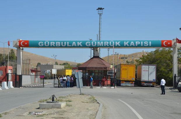 Ağrı'da teröristler gümrük personelini taşıyan araca saldırdı