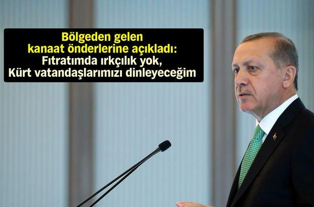 Erdoğan kanaat önderleri toplantısı