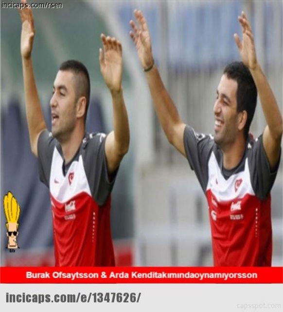 Türkiye - İzlanda maçı capsleri