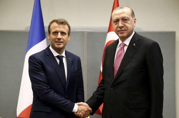 Cumhurbaşkanı Erdoğan'dan Macron'a Suriye ve Irak telefonu!