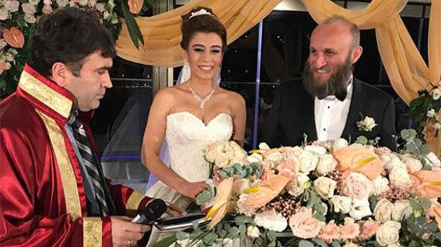 Ünlü aktör Çetin Altay evlendi