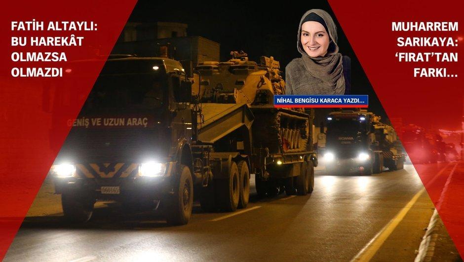 Suriye Fırat Kalkanı İdlib Nihal Bengisu Karaca Fatih Altaylı Muharrem Sarıkaya  TSK