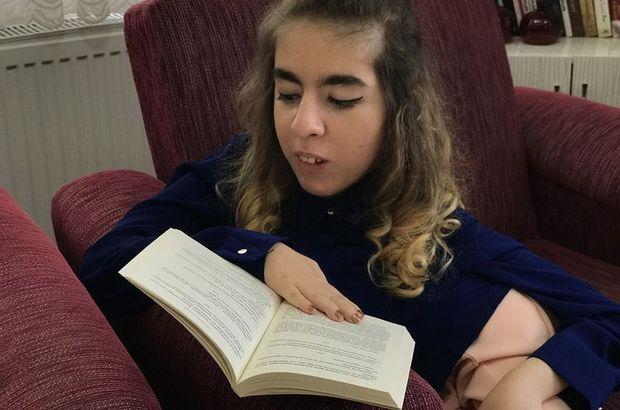SMA hastası genç kız ikinci kitabını çıkarıyor!