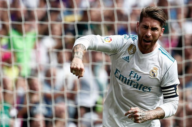 Sergio ramos celebration