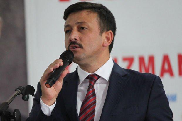 AK Parti Genel Başkan Yardımcısı Hamza Dağ: Oğlum 'Bass' git