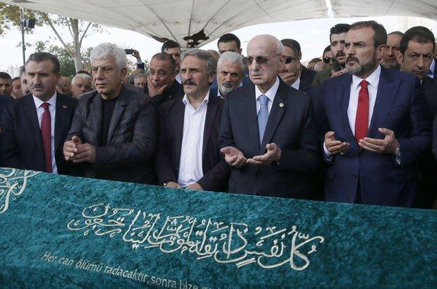 AK Partili Çamlı'nın babası son yolculuğuna uğurlandı