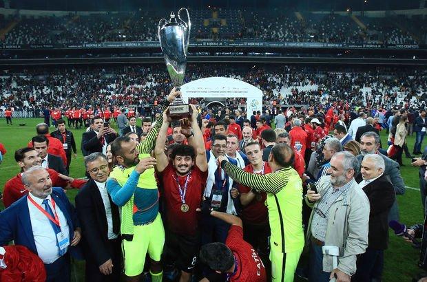 Avrupa şampiyonlarına tebrik yağdı!
