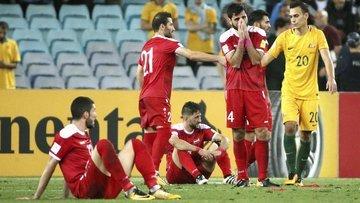 Suriye, Dünya Kupası şansını kaybetti
