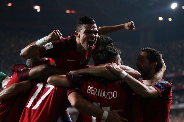 Portekiz: 2 - İsviçre: 0   MAÇ SONUCU