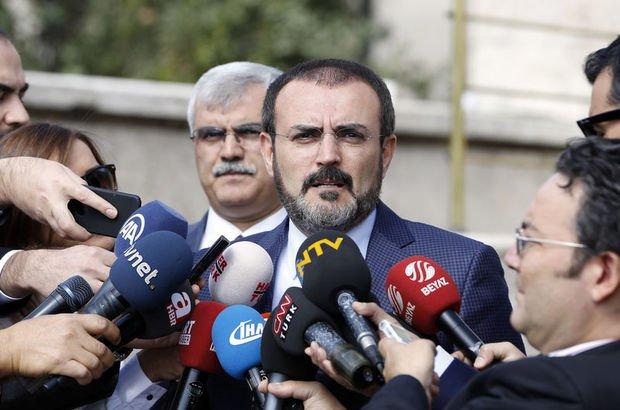 AK Parti Sözcüsü Ünal: ABD'nin vize yasağı sürdürülebilir değil