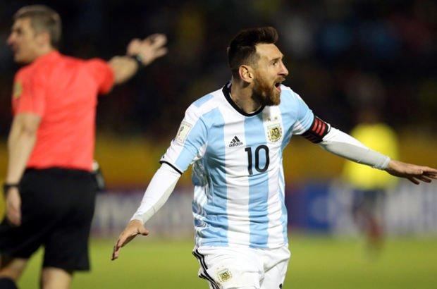 Messi Arjantin'i Dünya Kupası'na taşıdı!