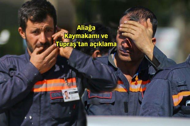 Tüpraş'ın İzmir'deki rafinerisinde patlama! 4 ölü