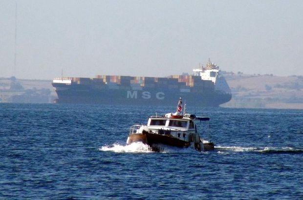 Çanakkale Boğazı'nda gemi arızası! 1 yaralı