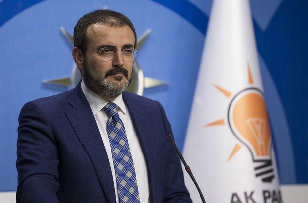 AK Parti sözcüsü Mahir Ünal MYK toplantısı sonrası soruları yanıtladı