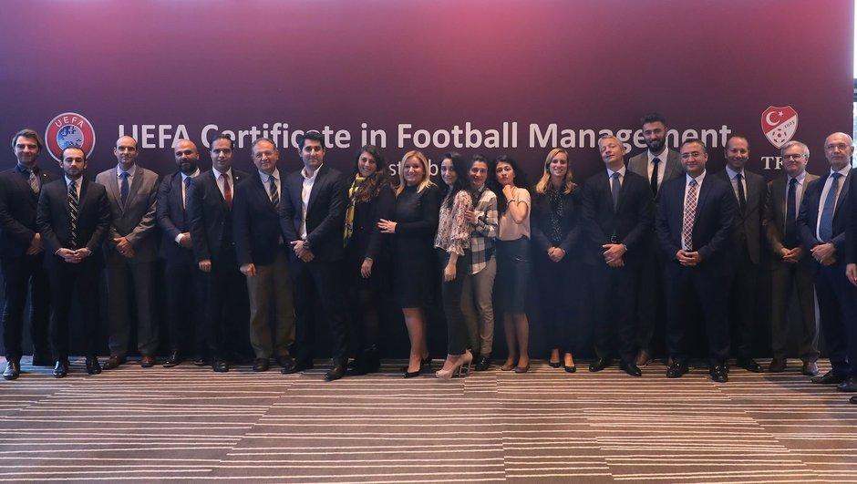 UEFA Futbol Yönetimi Sertifika Programı