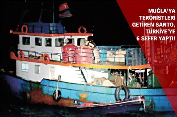 Muğla PKK Suriye tekne