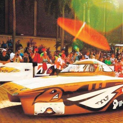 güneş enerjili otomobiller yarışı