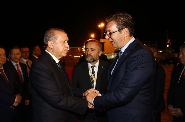 sırbistan türkiye, recep tayyip erdoğan