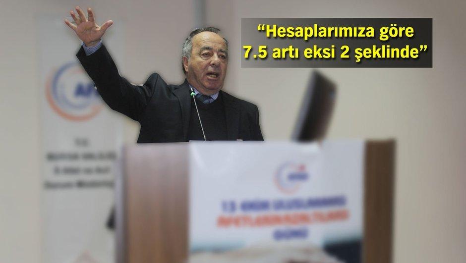 İstanbul'da deprem Yrd. Doç. Dr. Oğuz Gündoğdu