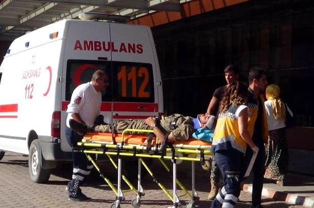 Çatışmada yaralanan 2 ÖSO askeri Kilis'e getirildi