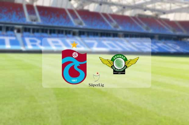 Trabzonspor, Akhisarspor'u konuk ediyor