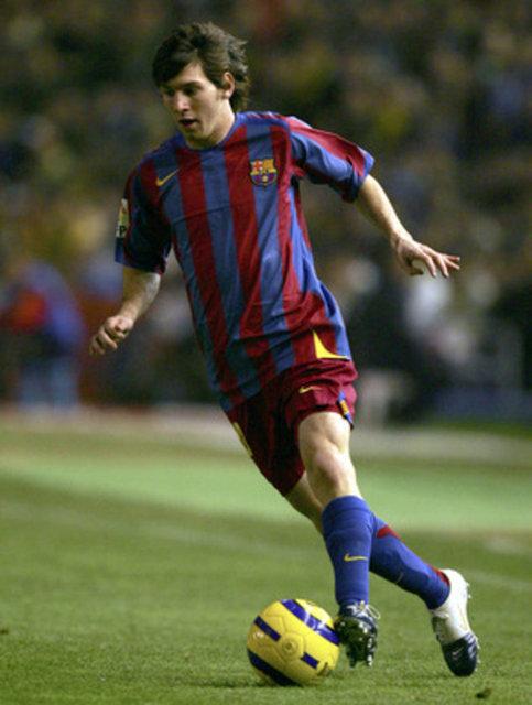 Lionel Messi'nin yıllar içindeki değişimi! Messi ilk maçına 13 yıl önce bugün çıktı