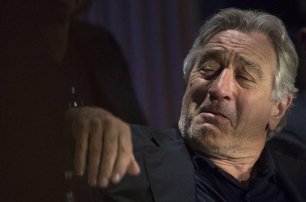 Robert De Niro'dan Donald Trump'a küfür