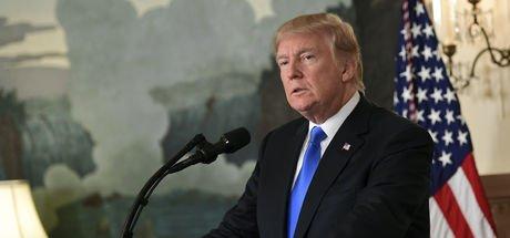 Trump: Erbil ve Bağdat arasında taraf tutmuyoruz