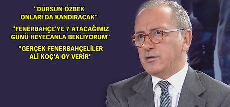 Fatih Altaylı: ''Derbide en çok Ozan Tufan'dan korkuyorum''