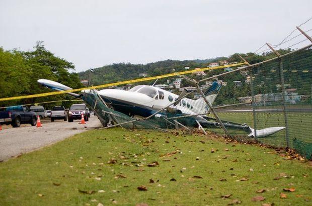 Danimarka'da uçak düştü! 2 kişi öldü