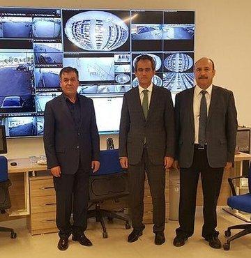 ÖSYM Başkanı Özer Esenboğa e-Sınav Merkezi'ni inceledi