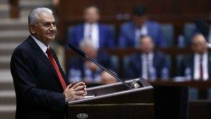 """Başbakan'dan Bahçeli'nin """"üniversite sınavı kaldırılsın"""" teklifine yanıt"""