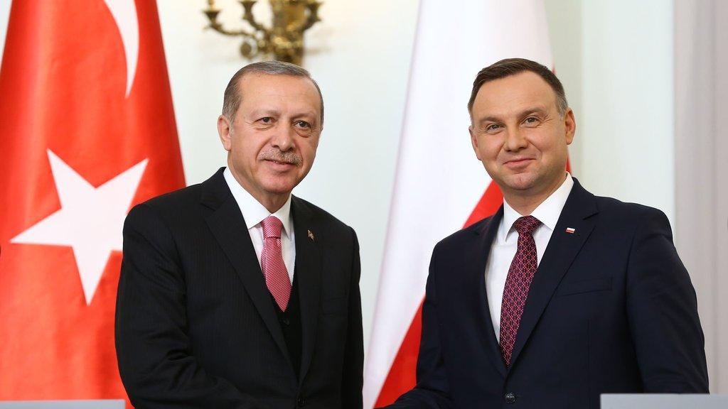 Erdoğan: Polonya ile ticaret hacminde hedef 10 milyar dolar