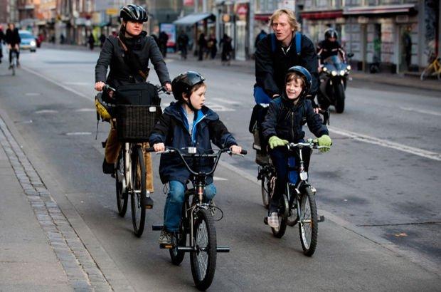Kopenhag Danimarka Ulaşımda bisiklet kullanımı Çevre ve Şehircilik Bakanlığı