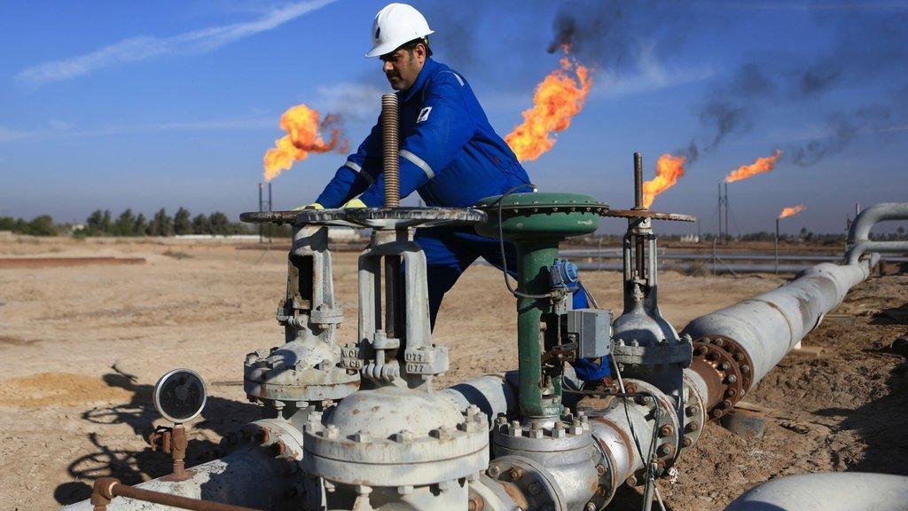 Petrole Irak freni!