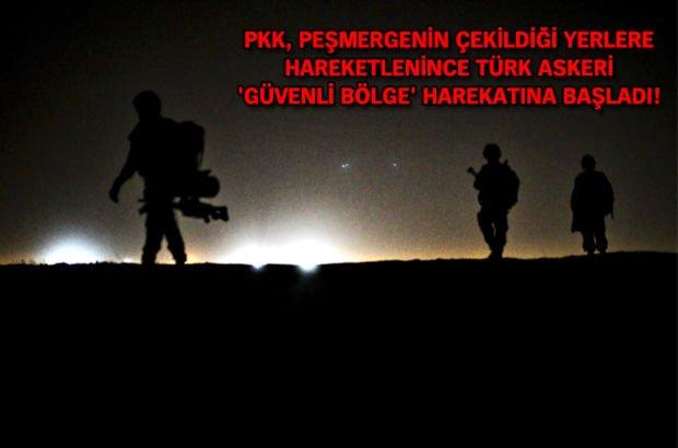 TSK'dan sınırötesine Zap Harekatı başlattı