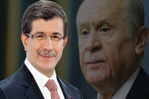 Ahmet Davutoğlu Devlet Bahçeli