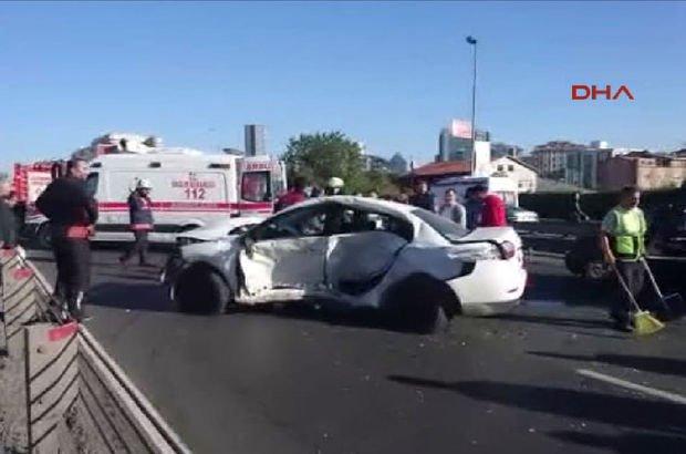 D-100 karayolunda trafik kazası