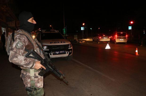 Adana'da bin 200 polisle huzur operasyonu